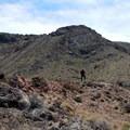The ridge to the summit is a fun and straightforward scramble.- Rishel Peak