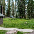 Campground meadow.- Ward Lake Campground