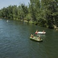 Floating the Boise River.- Boise River Float