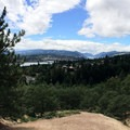Panoramic view from the trail.- Jewett Creek Watershed
