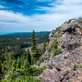 Once the crest is reached, the trail becomes a walk in the park!- Crags Crest Trail