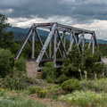 The railroad bridge is a great place to walk--carefully!- Railroad Bridge Campground