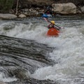 The park is a fun place to watch the action, too.- Buena Vista Whitewater Park