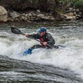 Riding the wave.- Buena Vista Whitewater Park