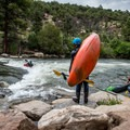 Waiting for a turn.- Buena Vista Whitewater Park
