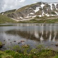 Ptarmigan Lake.- Ptarmigan Lake Trail