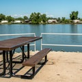 Picnic by the water, anyone?- St. Vrain State Park Campground