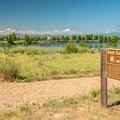 Bald Eagle Pond.- St. Vrain State Park Campground