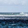 Surfer at Tunnels Beach.- Tunnels Beach/Makua Beach