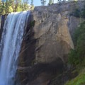 Vernal Falls along the Mist Trail is a short detour that connects back to the John Muir Trail shortly after the start. - John Muir Trail Section 1