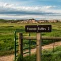 Trailhead.- Pawnee Buttes Trail