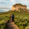 West butte.- Pawnee Buttes Trail