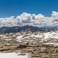 Donohue Pass is the first high pass for SOBO hikers.- John Muir Trail Section 1