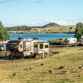 Tumbleweeds camping loop has some water and electric hook ups.- Granite Springs Reservoir Campgrounds