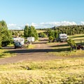 Tumbleweeds loop.- Granite Springs Reservoir Campgrounds
