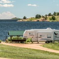 There are many large waterfront sites scattered around the park.- Granite Springs Reservoir Campgrounds