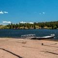 Boat ramp.- Granite Springs Reservoir Campgrounds