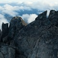 Mount Stuart (9,416').- Mount Stuart: West Ridge