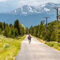 The Mineral Belt Trail is one of the highlights of Leadville.- Mineral Belt Trail