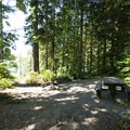 - Baker Lake, Shannon Creek Campground