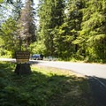 Panorama Point Campground.- Baker Lake, Panorama Point Campground