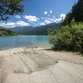 Boat launch at Panorama Point Campground.- Baker Lake, Panorama Point Campground