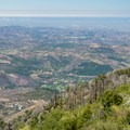 The Silvercrest Trail also provides sweeping views of the valley.- Palomar Mountain State Park