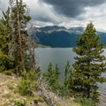 Most of the trail skirts the lake and offers great views- Interlaken Trail