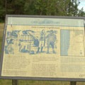 Interpretive sign in Brian Booth State Park/Ona Beach.- Brian Booth State Park