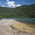 Boat ramp at Horseshoe Cove Campground.- Baker Lake, Horseshoe Cove Campground