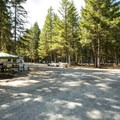 View of Kulshan Campground's eastern section.- Baker Lake, Kulshan Campground