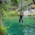 People have hung rope swings in a few spots along the creek. Inspect them for safety before using.- Fossil Creek