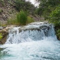 Besides the waterfall, Fossil Creek contains many other cascades and rapids.- Fossil Creek