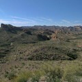 Looking north from the same point.- Apache Trail Scenic Byway