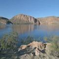Canyon Lake.- Apache Trail Scenic Byway
