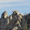 Rock structures.- Mount Rose Campground