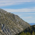 View from the nearby Tamarack Loop.- Mount Rose Campground