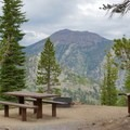 Views from a campsite.- Mount Rose Campground