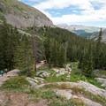 McCullough Gulch Trail.- McCullough Gulch Trail
