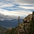 Views from the ascent toward Rocky Mountain National Park.- Twin Sisters Peak Hike