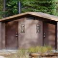 Bathrooms at Goose Meadows Campground.- Goose Meadows Campground