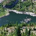 Grizzly Lake.- Mount Margaret Backcountry Lakes