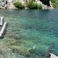 Crystal clear water at Shovel Lake.- Mount Margaret Backcountry Lakes