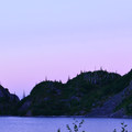 Sunset at Shovel Lake.- Mount Margaret Backcountry Lakes