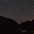 Night sky at Shovel Lake.- Mount Margaret Backcountry Lakes