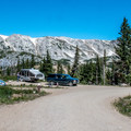 Sugarloaf Campground sits at the base of the Snowy Range.- Sugarloaf Campground