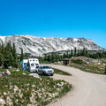 Views from every campsite.- Sugarloaf Campground