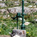 The only source of drinking water at the site.- Sugarloaf Campground