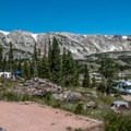 A beautiful and popular campground.- Sugarloaf Campground