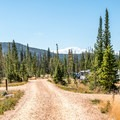 North Fork is the most big-rig friendly of the Snowy Range campgrounds, but it is also pleasant for tents.- North Fork Campground